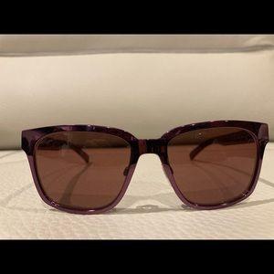 Burberry metallic purple sunglasses. Made in Italy